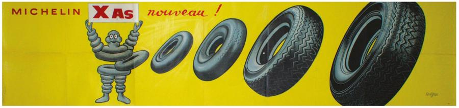 "ARCHIVES DE MR ALAIN WEILL MICHELIN X AS ""NOUVEAU!"". 1966 Etablissements de La Vasselais,…"
