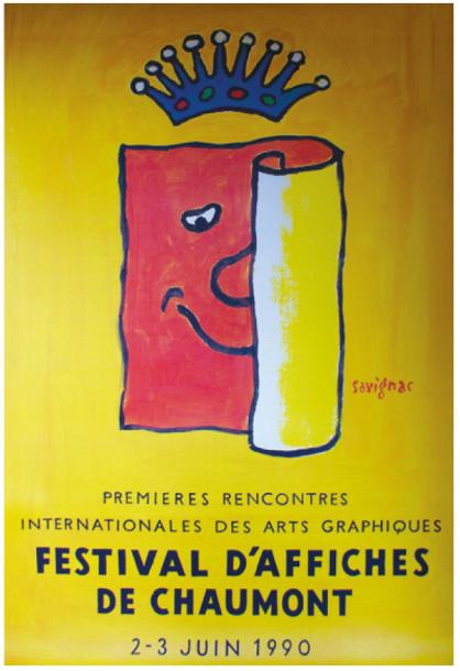 ARCHIVES DE MR ALAIN WEILL FESTIVAL D'AFFICHES de CHAUMONT. 1990 Affiches EAI (offset)…