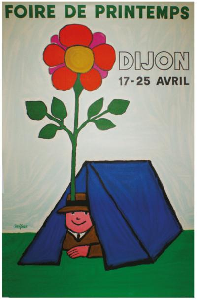 ARCHIVES DE MR ALAIN WEILL FOIRE DE PRINTEMPS, Dijon. 1978 Imp.Bedos, Paris - 116…