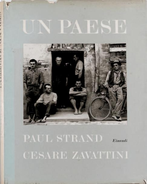 "PAUL STRAND 1890-1976 ""Un Paese"", Giulio Einaudi Editore, Milan 1955, 110 pages.…"