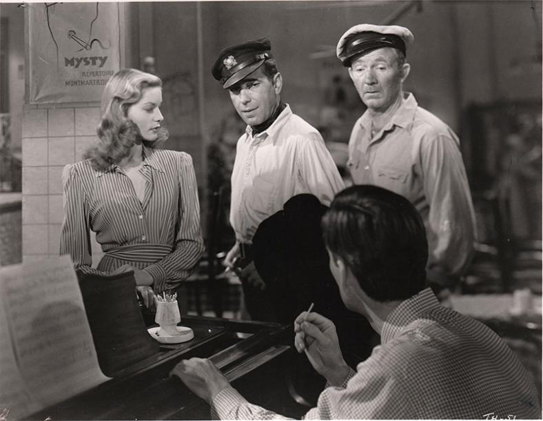 LE PORT DE L'ANGOISSE - TO HAVE AND HAVE NOT Lauren Bacall et Humphrey Bogart, film…