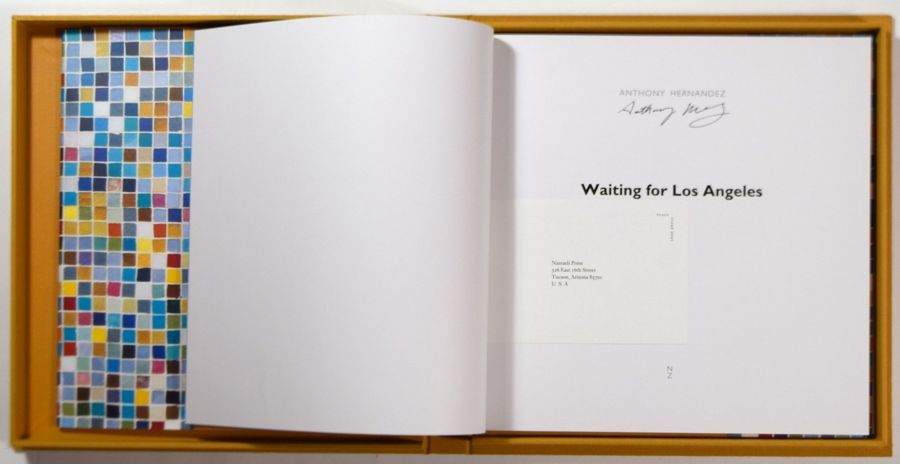 """ANTHONY HERNANDEZ 1947 """"Waiting for Los Angeles"""", Nazraeli Press, 2002, 94 pages.…"""