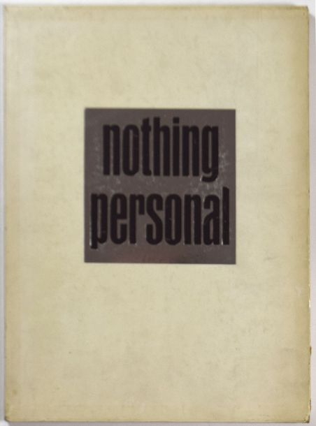 "RICHARD AVEDON 1923-2004 ""Nothing Personal"", Atheneum Publishers, New York 1964,…"