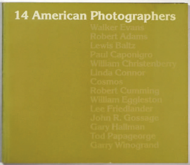 "COLLECTIF ""14 american Photographers"", The Baltimore Museum of Art, 1974, 88 pages.…"