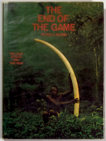 """PETER BEARD 1938 """"The End of the Game"""", The Viking Press, New York 1965, 256 pages.…"""