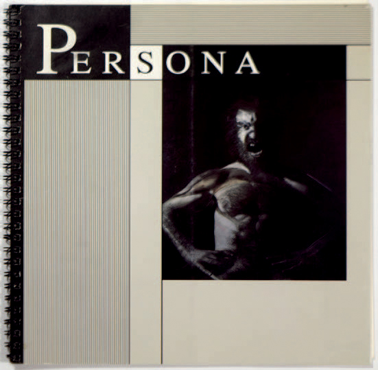 """COLLECTIF """"Persona"""", Museum of Photographic Arts, 1992, non paginé. Reliure spirale…"""