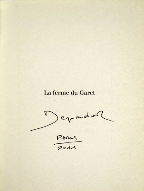 "RAYMOND DEPARDON 1942 ""La ferme du Garet"", éditions Carré, 1995, 320 pages. Ouvrage…"