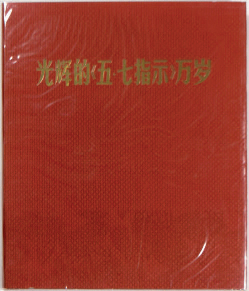 """COLLECTIF """"Long Live the Bright instruction"""", People's Liberation Army Picture Publishing,…"""