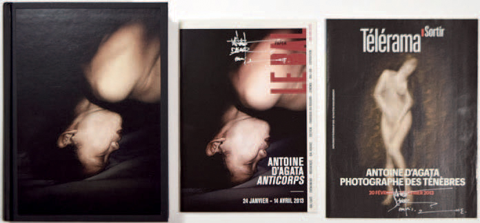 "ANTOINE D'AGATA 1961 ""Anticorps"", Editions Xavier Barral, 2012, 560 pages. Ouvrage…"