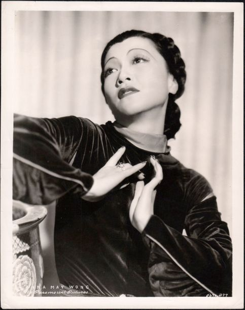 ANNA MAY WONG Anna May Wong, portrait Paramount, ca. 1930. Tirage argentique d'é…