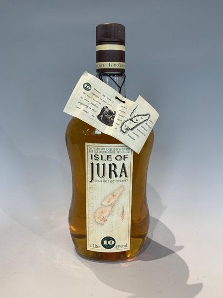 1 Bouteille Whisky Isley of Jura 10 ans 1 litre