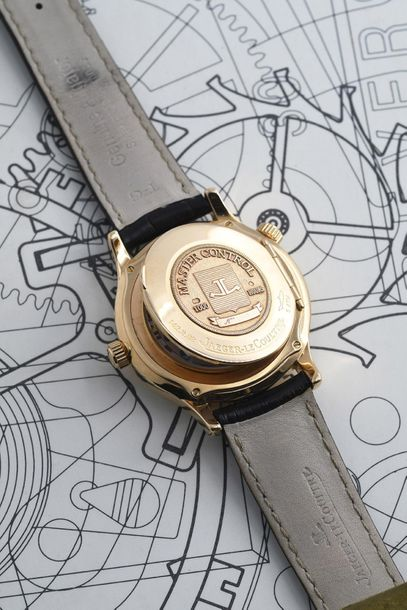 JAEGER LeCOULTRE JAEGER LeCOULTRE (MASTER CONTROL GEOGRAPHIC 1000 H / OR JAUNE r…
