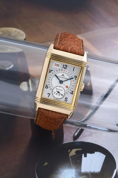 JAEGER LeCOULTRE JAEGER LeCOULTRE (Reverso Grande Taille – Day / Date Or Rose ré…