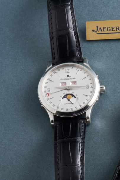 JAEGER-LeCOULTRE (Master Control 1000 H - Moon Silver réf. 140.8.98 S), vers 2004…