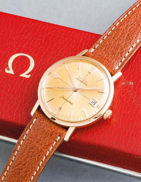 OMEGA (Seamaster Waterproof Calendrier – Or jaune réf. 14770-SC-61), vers 1961 
