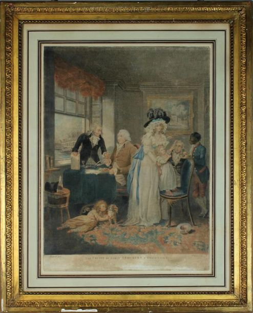 D'APRÈS MORELAND PAR WARD The effects of youthful extravagance & Idleness The fruits…