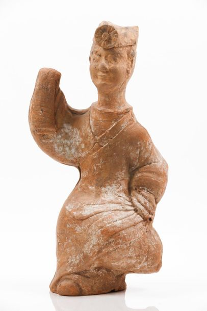 A Sichuan terracotta sculpture of a dancing lady Han dynasty (202 BC–220 AD) Hei…
