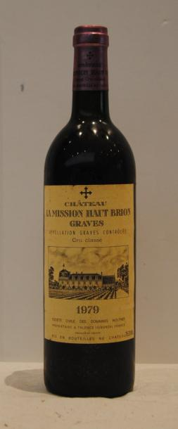 1 bout CHT LA MISSION HAUT BRION 1979