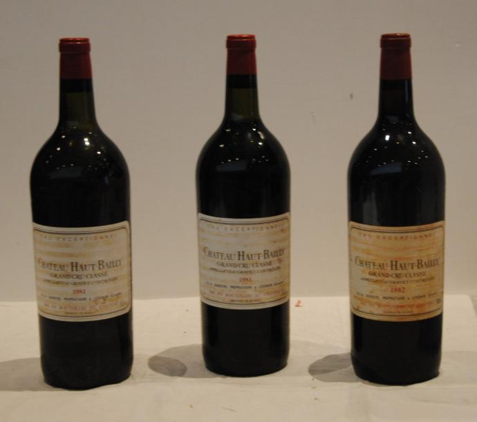 3 mag 2 CHT HAUT BAILLY 1981 (NTLB) et 1 1982