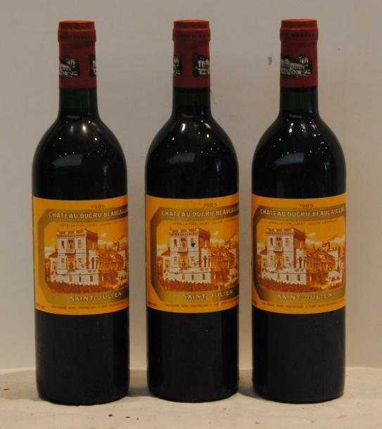 3 bout CHT DUCRU BEAUCAILLOU 1985