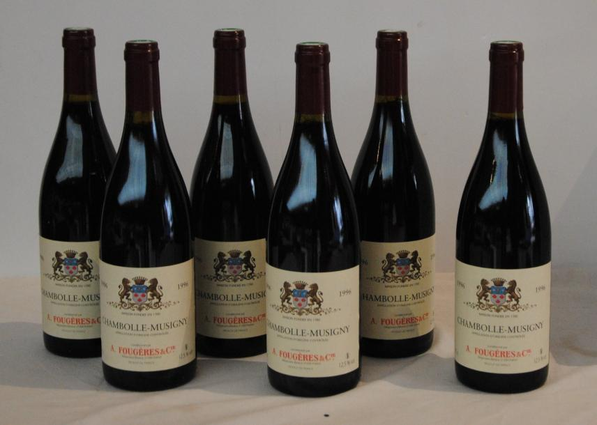 6 bout CHAMBOLLE MUSIGNY 1996