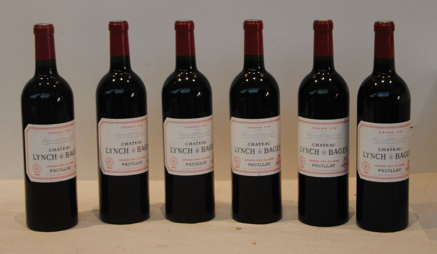 6 bout CHT LYNCH BAGES 2008