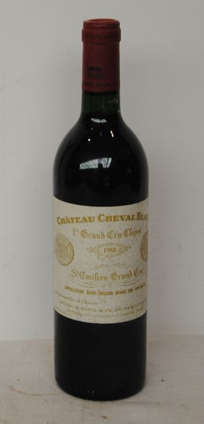 1 bout CHT CHEVAL BLANC 1988