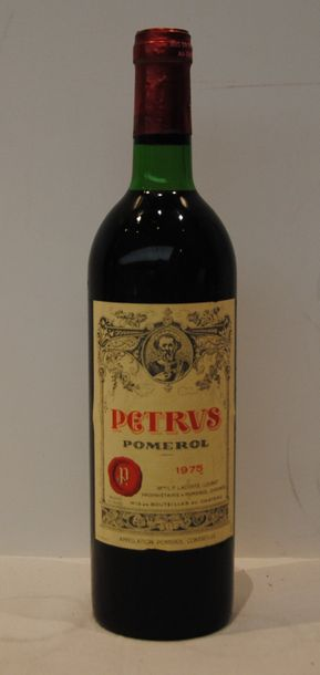 1 bout CHT PETRUS 1975 ( NTLB)
