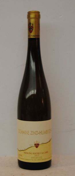 12 bout RIESLING ROCHE CALCAIRE ZIND HUMBRECHT 2015