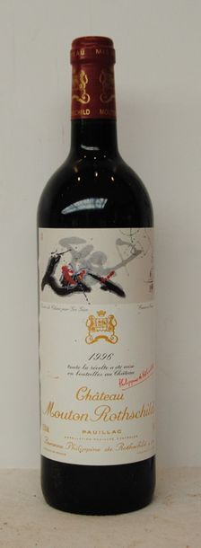 1 bout CHT MOUTON ROTHSCHILD 1996