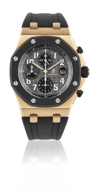 AUDEMARS PIGUET Royal Oak Offshore ref. 25940 Chronographe bracelet en or rose 1…