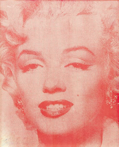 ECOLE AMERICAINE, 20ème SIECLE Marilyn Monroe, Chicago 1993 Lithographie couleur…