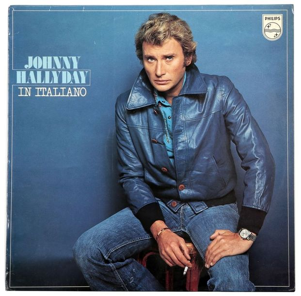 Johnny Hallyday in italiano , ref 910104 A, M.