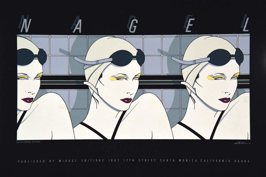 NAGEL PATRICK Nagel Published by Miarge Editions Santa Monica Californial Mirage…