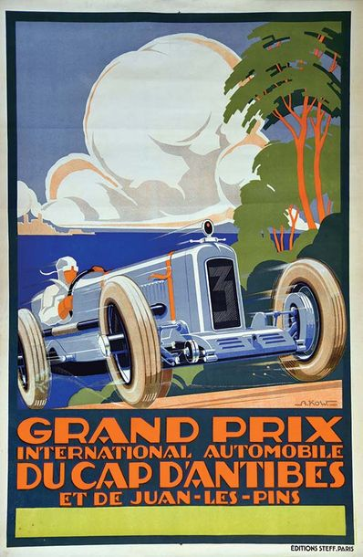 KOW ALEXIS Grand Prix International Automobile du Cap D'Antibes et de Juan les Pins…