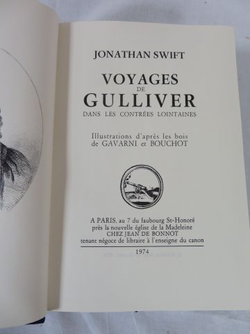 "SWIFT ""Voyages de Gulliver"" Jean de Bonnot. 1974."