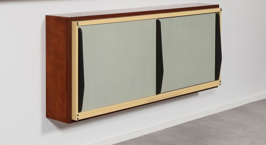 CHARLOTTE PERRIAND et Atelier JEAN PROUVé (1903 -1999) Brazza - BH1 Cabinet mural…