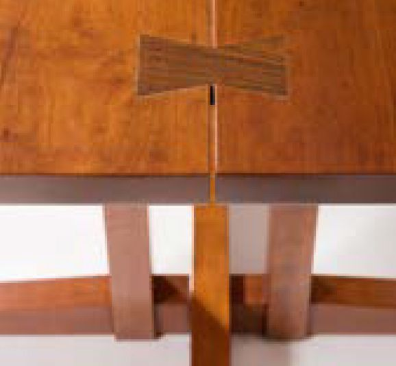 GEORGE NAKASHIMA (1905 - 1990) Frenchman's Cove Table de salle à manger Cerisier.…