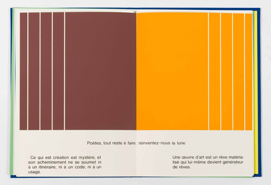 JO DELAHAUT (1911-1992) Album «CD...», 1976 Composition in-texte en sérigraphie couleurs…