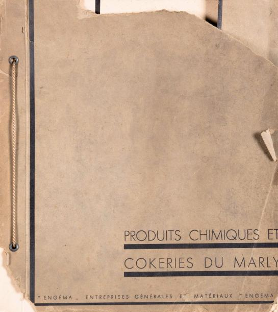 Willy Kessels (1898-1974) Produits chimiques et Cokeries du Marly. Bruxelles Circa…