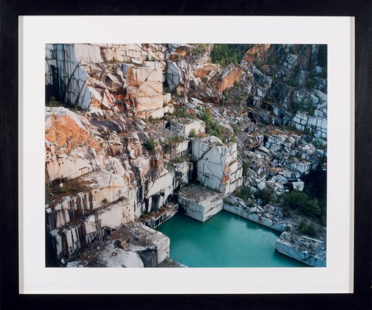 EDWARD BURTYNSKY (né en 1955) Rock of Ages 59, Abandonned Section, Adam-Pirie Quarry,…