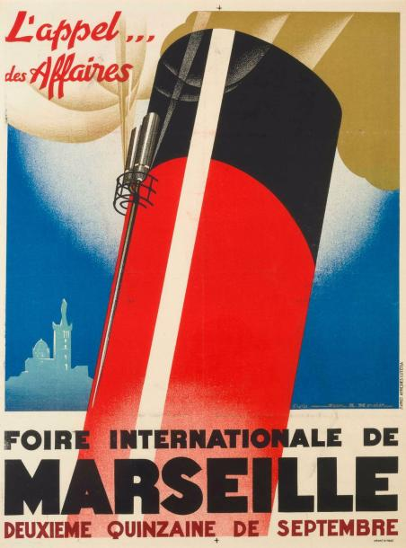 JEAN ADRIEN MERCIER (1899-1995) L'appel... des affaires. Foire internationale de…