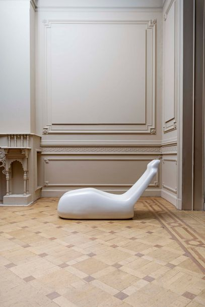 Alberto Rosselli (1921-1976) Moby Dick Chaise-longue ABS. Ligstoel ABS. 1969. Ed.…
