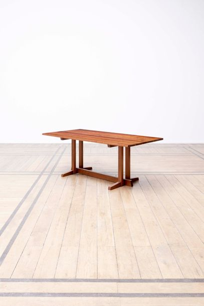 GEORGE NAKASHIMA (1905 - 1990) Frenchman's Cove Table Cerisier. Tafel Kerselaar.…