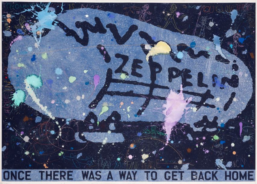 DAVID SPILLER (1942-2018) Zeppelin. Once there was a way to get back Home, 1997.…