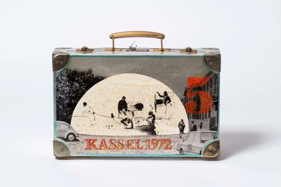 ED KIENHOLZ (1927-1994) Kassel V, 1972. Sculpture-volume. Technique mixte Edition…