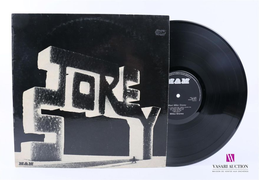 MIKE STOREY 1 Disque 33T sous pochette cartonnée Label : MAM 258.100 Fab. France…