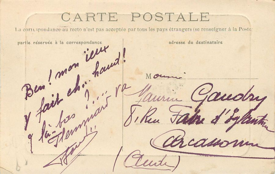 "10 CARTES POSTALES COMMERCE-METIERS-INDUSTRIE : Sélection Province. ""Cap Ferret-Restaurant…"