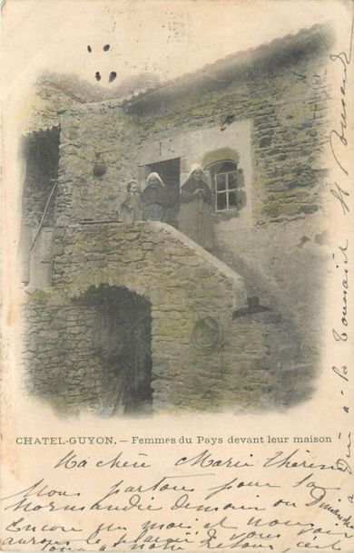 64 CARTES POSTALES PUY DE DOME : Villes, qqs villages, qqs animations, qqs sites…