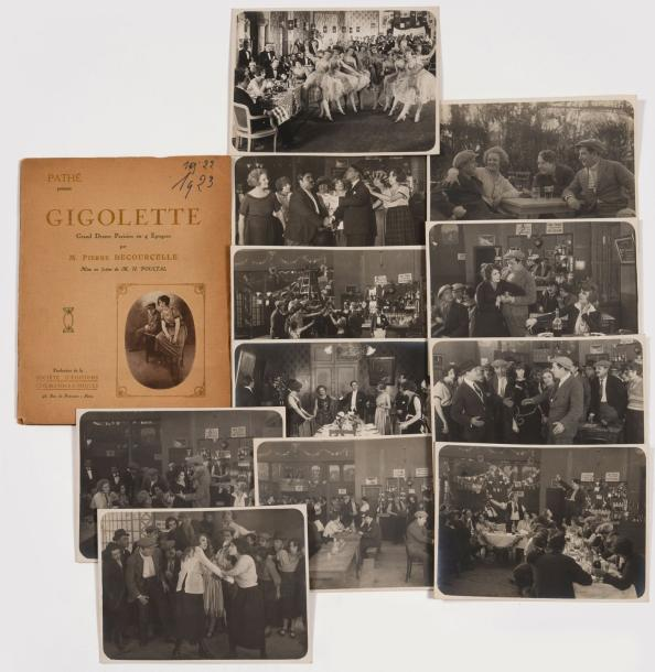Photographies Archives Pierre Stephen (1890-1980) Films muets - Gigolette de Pierre…